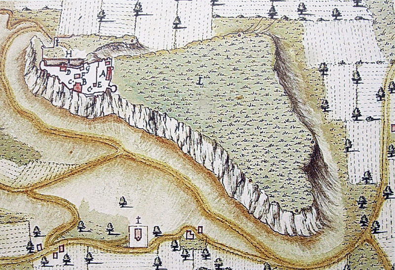 Plan du fort (17e siècle)