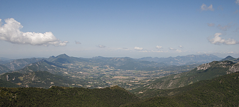 Paysage des Baronnies