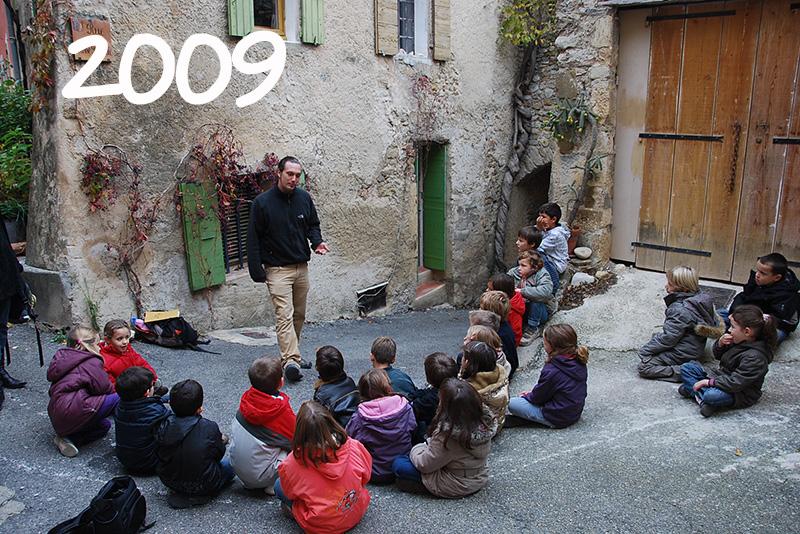 2009 - Atelier pédagogique. L'eau de Mirabel