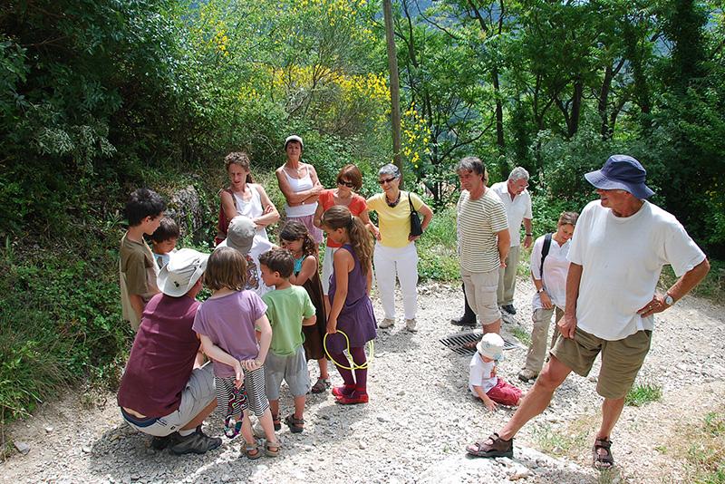 2009 - Jeu de piste : L'eau de la Roche