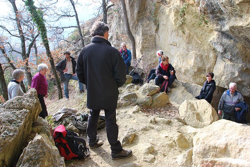 2011 - Les grottes sarrazines de la Roche-St-Secret