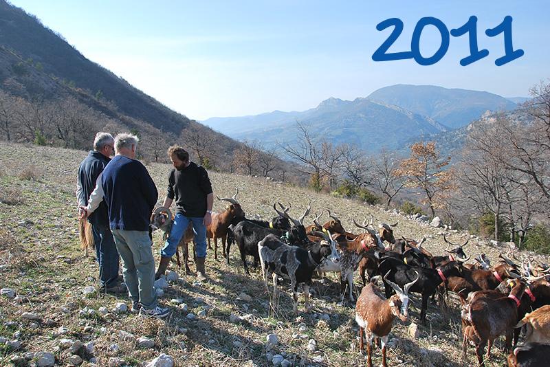 2011 - La ferme du Théron de la Roche-sur-le-Buis