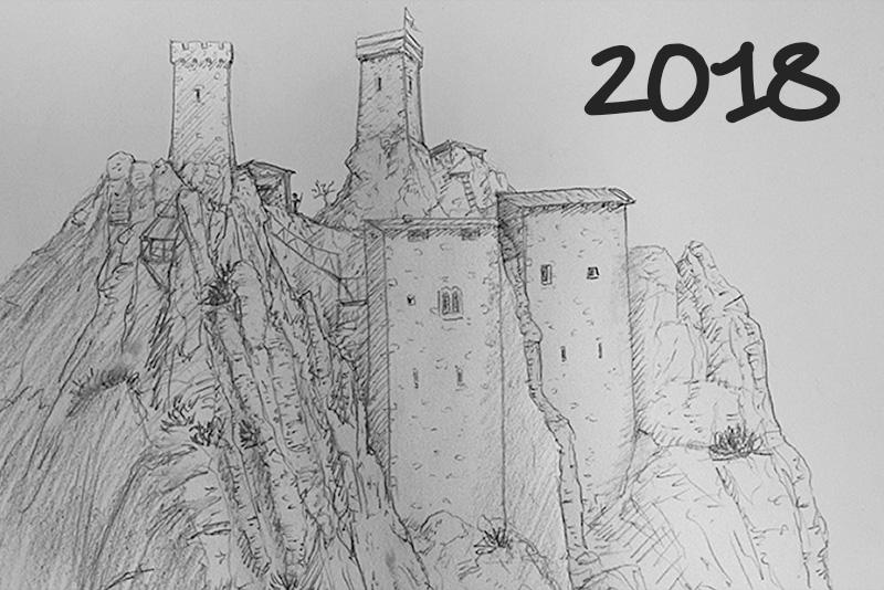 2018 - Les combes de Bellecombe (dessin Matthieu)